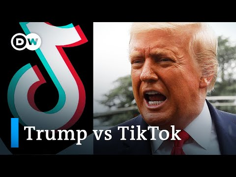Trump says he39ll ban China39s TikTok video app in US  DW News