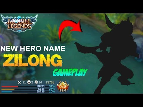 Mobile Legends - New Hero Name Changes 'ZILONG' Full Gameplay and Best Build [MVP]