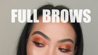 Full & Defined Thick Brow Tutorial