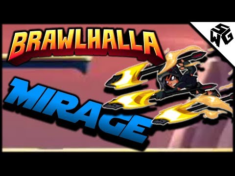 Diamond Ranked Mirage 1v1's - Brawlhalla Gameplay :: A Little Spear Play!