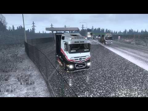 Euro Truck Simulator 2 MP# 69 Konwój Firmowy