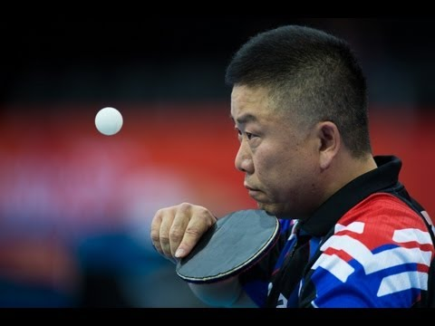 Table tennis highlights at London 2012 Paralympic Games