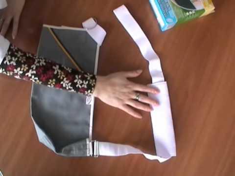 Бандаж для сломанной руки своими руками