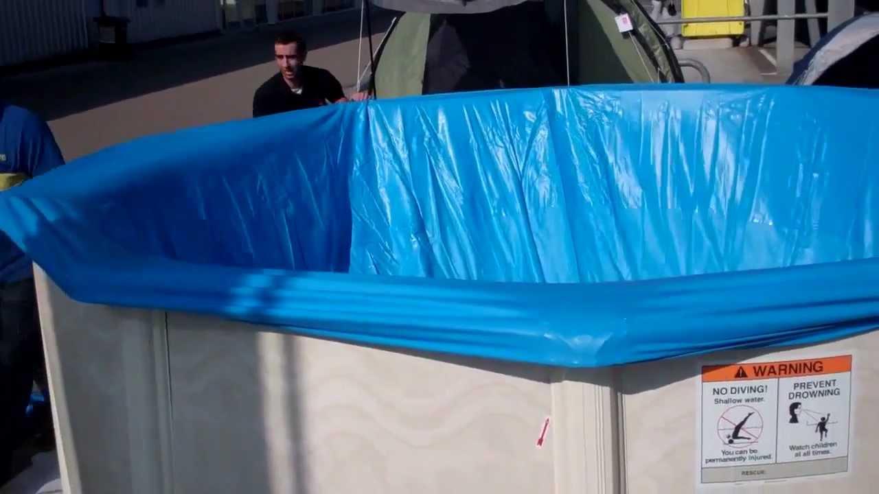 Hoe bouw je een interline century zwembad opbouw rond youtube - Ontwikkeling rond een zwembad ...