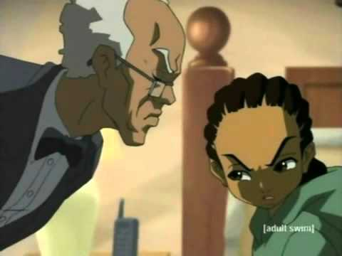The Boondocks Game Recognize Game Cheddar Biscuits video