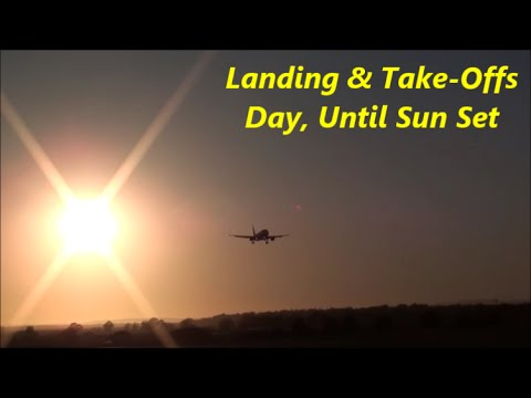 Landing & Take-Offs - Day, Until The Sun Set - Airport International Faro - Portugal 2016 M.C