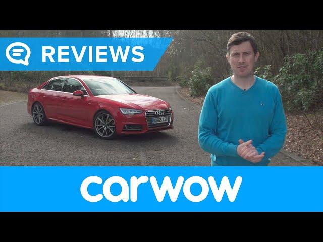 Audi A4 Saloon 2017 review | Mat Watson Reviews - YouTube