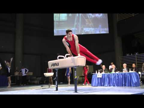 Cameron Deer - Pommel Horse - 2012 Winter Cup Prelims