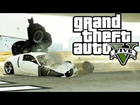 Best GTA 5 Airplane Take Off Crashes (GTA V)