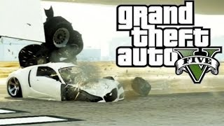 Best GTA 5 Airplane Take Off Crashes Episode 9 (GTA V)