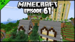 3 Plots = 3 NEW Minecraft Builds! | Python's World (Minecraft Survival Let's Play) | Episode 61