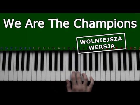 We Are The Champions -Queen- Jak Grać Na Keyboardzie - Wolniejsza Wersja