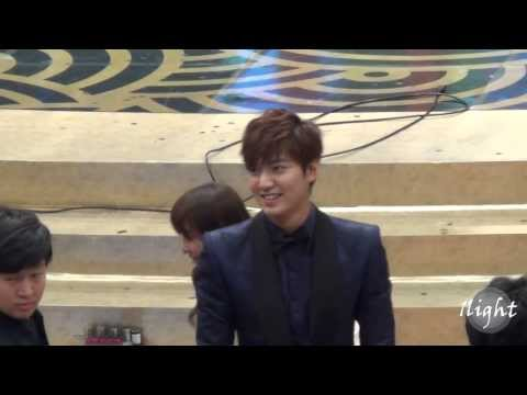 Lee Min Ho 2013 SBS Drama Awards Music Videos