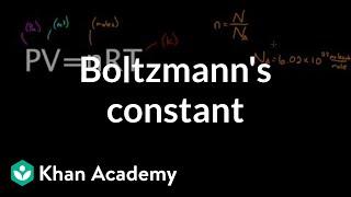 Boltzmann's constant | Physics | Khan Academy
