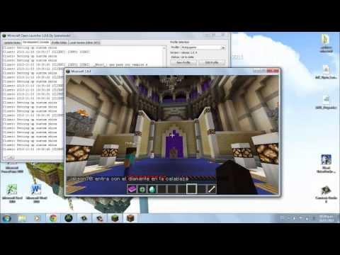 Como jugar multijugador en Minecraft 1.6.4 (NO PREMIUM NO HAMACHI)
