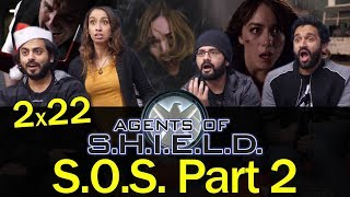 Agents of Shield - 2x22 S.O.S. Part 2 - Group Reaction