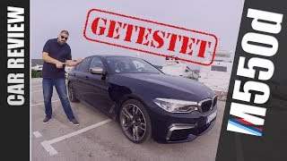BMW M550d (G30) - Car Review (deutsch 🇩🇪)