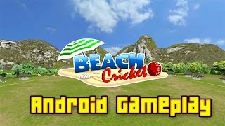 Beach Cricket Android Gameplay in HD