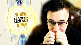 Watching the 10 Year Anniversary of League Of Legends! (Speechless)
