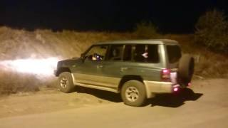 Pajero off road