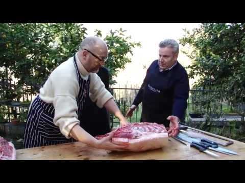 Four Men and A Pig: A Lesson in Italian Butchery
