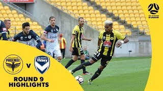 Hyundai A-League 2017/18 Round 9: Wellington Phoenix 2 - 3 Melbourne Victory