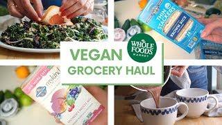 Healthy Vegan Grocery Haul + Easy Recipes 🥑🥬🥒🥗🌮🍜