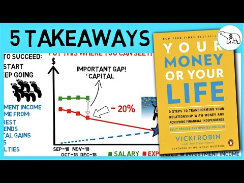 TOP 5 TAKEAWAYS: YOUR MONEY OR YOUR LIFE SUMMARY (BY VICKI ROBIN)