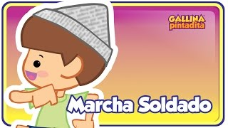 Marcha Soldado - Gallina Pintadita 1 - OFICIAL - Español