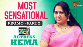 Actress Hema Exclusive Interview | Part #2 Promo | Open Talk with Anjii