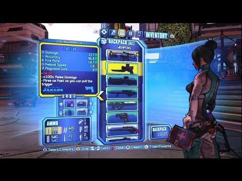 Borderlands 2 - Talking Guns - The Gun Show