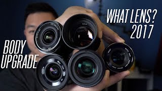 Sony Alpha a6000 in 2017: What Lenses/Body to Buy? (Sigma 16mm, Sony 18-105, Sony 10-18, and more)
