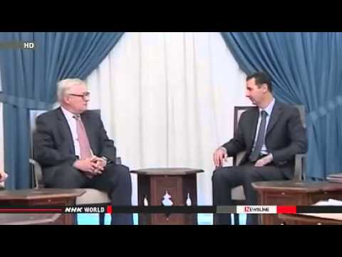 Assad thanks Russia for stopping US attack