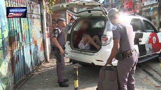 Ladrão cara de pau é pego dormindo na favela de Paraisópolis