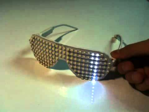 LED Matrix shutter shade