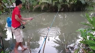 Thử câu cá sông nhỏ trước cửa nhà. điểm câu giải quyết cơn ghiền   Săn bắt SÓC TRĂNG  