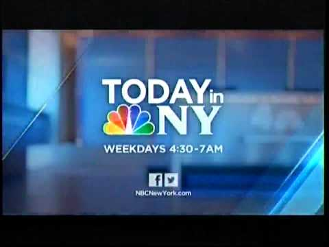 WNBC Today in NY Open (2013)