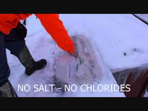 Safe Ice Dam Removal Youtube