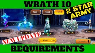 MMEG WRATH 10 NEW STAT REQUIREMENTS - F2P Beginners Guide - Might and Magic Elemental Guardians