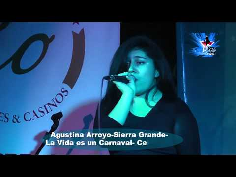 Agustina Arroyo Sierra Grande  La Vida es un Carnaval  Celia Cruz