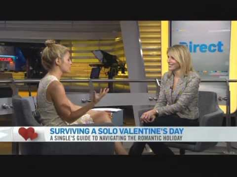 Jen Kirsch on CTV News  On How To Survive Valentines Day When Single