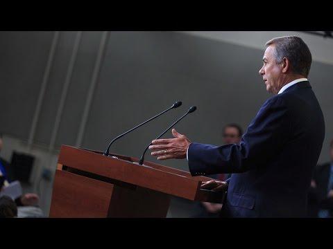 Boehner Presses White House on Jobs & Keystone Pipeline