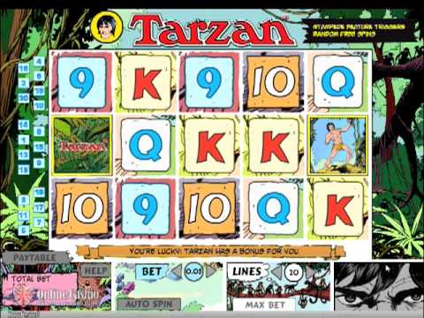 slot machine tarzan online