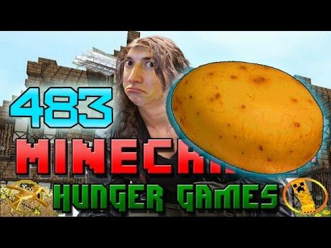 Minecraft: Hunger Games w Mitch Game 483 WORLDS STRONGEST POTATO