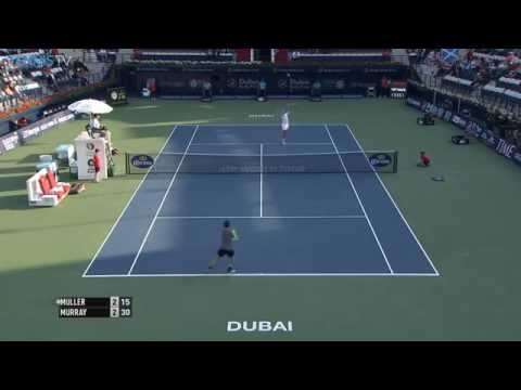 Andy Murray Hot Shot Dubai 2015