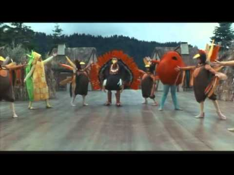 Addams Family Thanksgiving Turkey Day Song Full Scene video