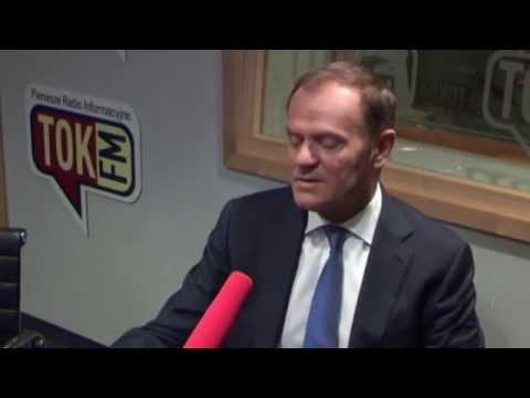 Donald Tusk komentuje słowa Sikorskiego dla Politico w TOK FM