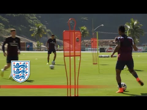 England first training session in Brazil | Inside Access