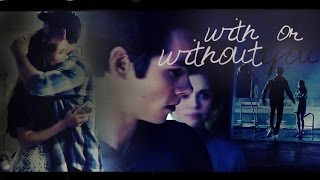 stiles and lydia | with or without you