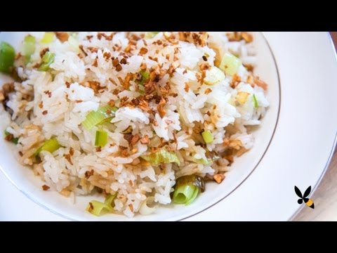 Ginger Garlic Fried Rice Recipe (Jean Georges) – Honeysuckle Catering
